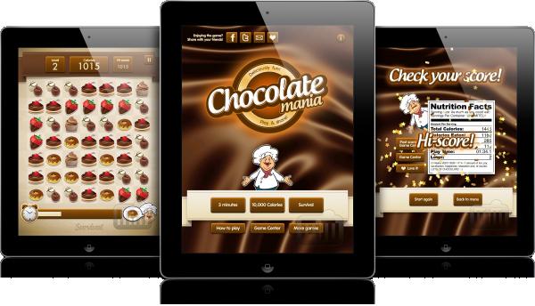 Chocolate Mania HD - iPads