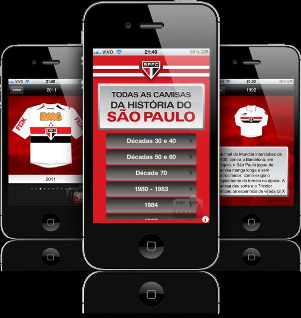 Todas as Camisas da História do São Paulo - iPhones