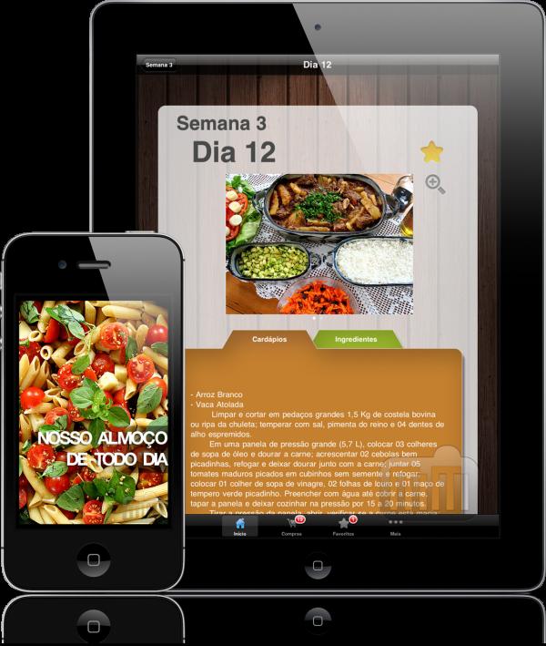 Nosso Almoço de Todo Dia - iPhone e iPad