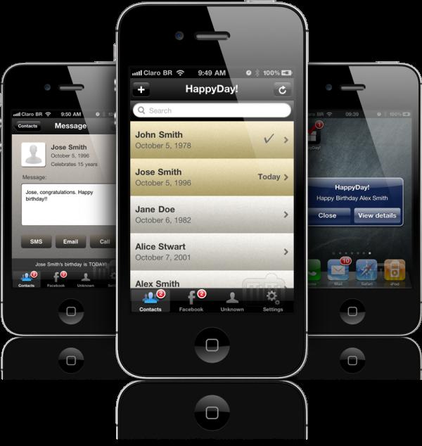 HappyDay - iPhones