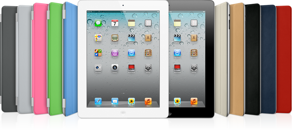 iPads 2 com Smart Covers