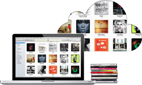 iTunes Match com MacBook Pro