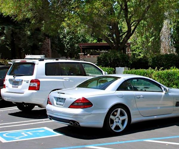Mercedes-Benz SL 55 AMG de Steve Jobs