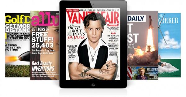 Revistas no iPad