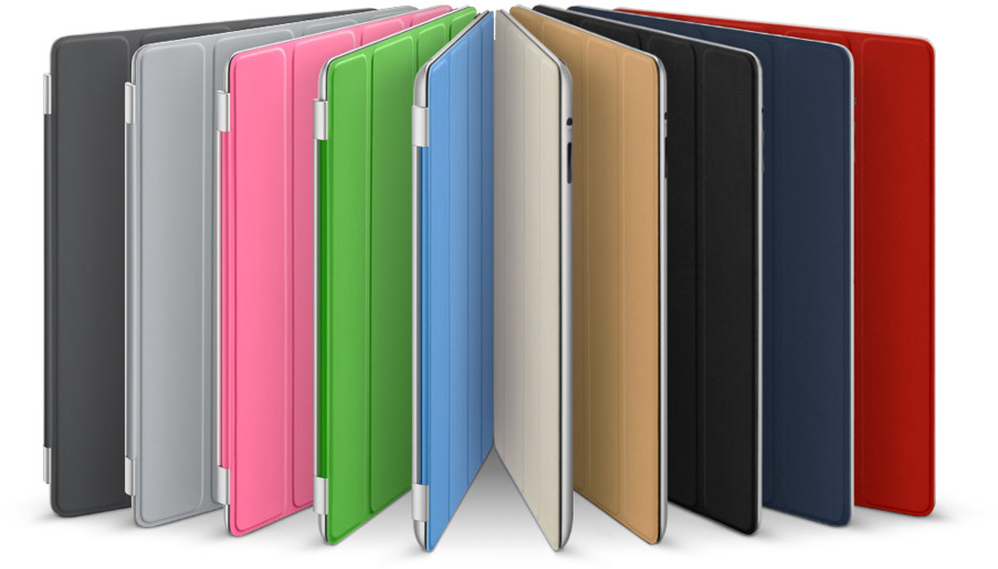 Novas cores de Smart Covers