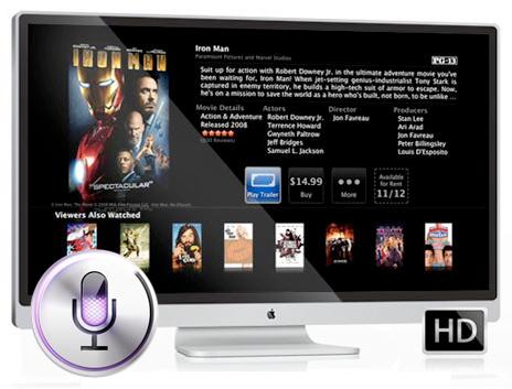 Siri e TV da Apple