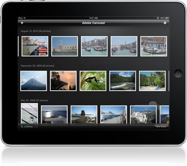 Carousel no iPad 2