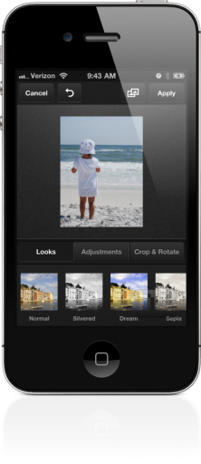 Carousel no iPhone 4S