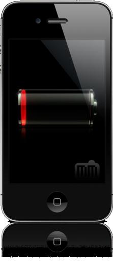 iPhone 4S sem bateria