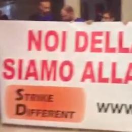 Protesto de funcionários em Apple Retail Store italiana