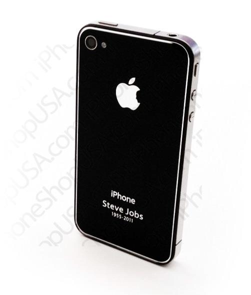 Traseira iPhone - Steve Jobs