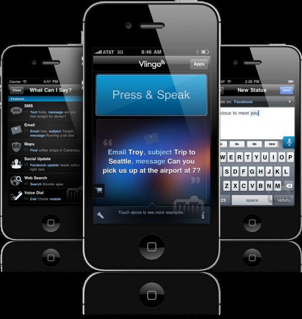 Vlingo - iPhones