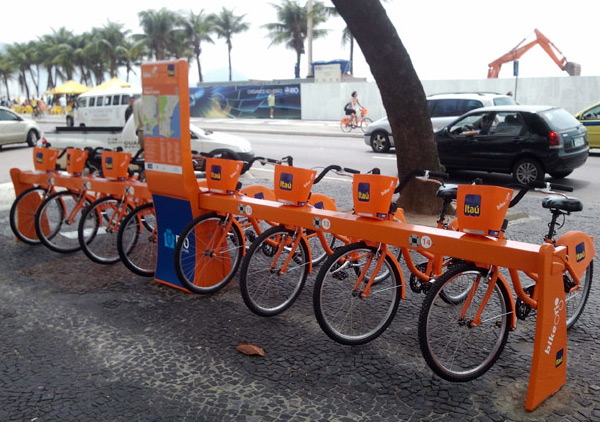 Bicicletas do Bike Rio