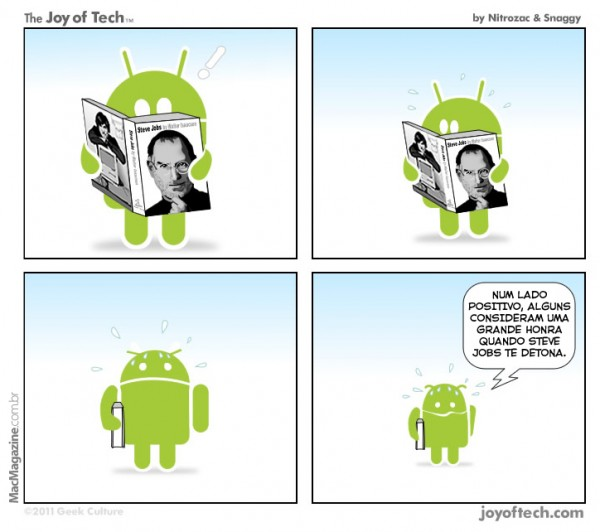 Joy of Tech - Android eh Stevado