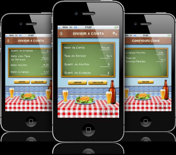 Dividir a Conta - iPhones
