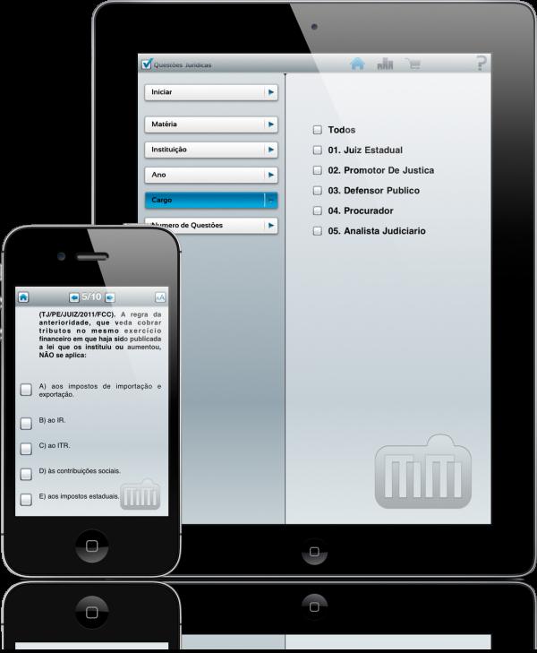 Questões Jurídicas - iPad e iPhone