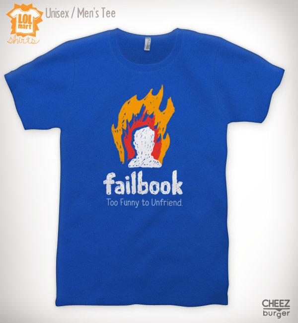 Camiseta do Failbook