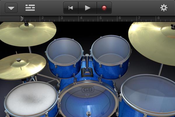 GarageBand no iPhone