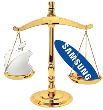 Balança - Apple vs. Samsung