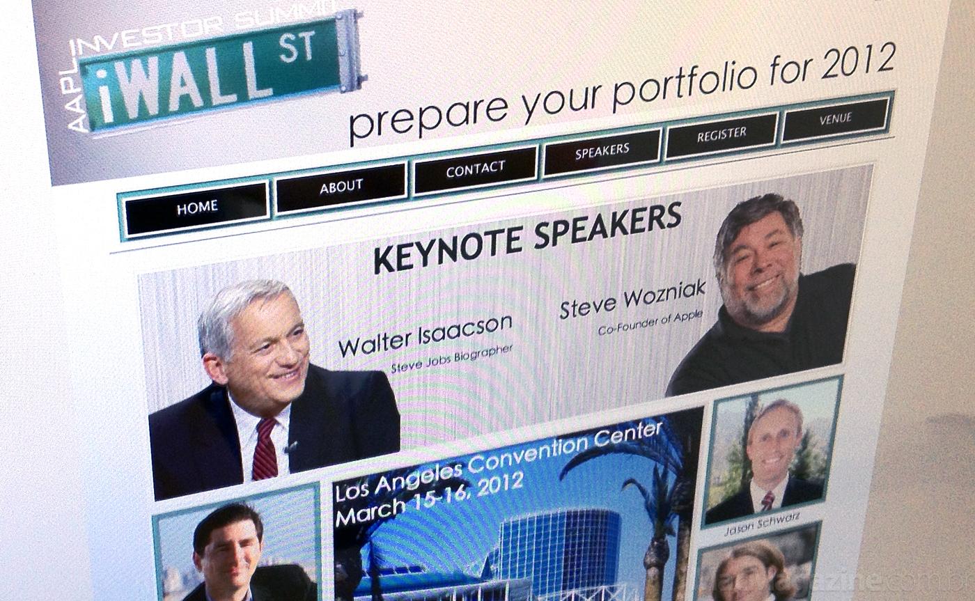 Apple Investor Summit