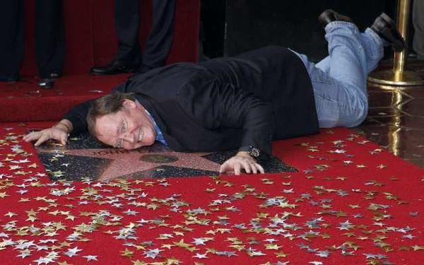 John Lasseter recebendo sua estrela na Calçada da Fama