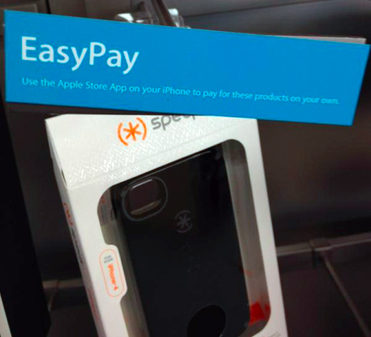 EasyPay em Apple Retail Stores