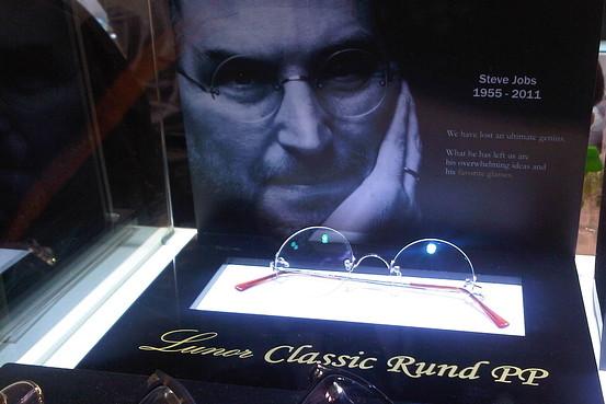 Óculos de Steve Jobs