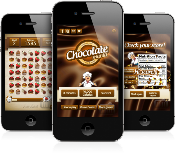 Chocolate Mania - iPhones