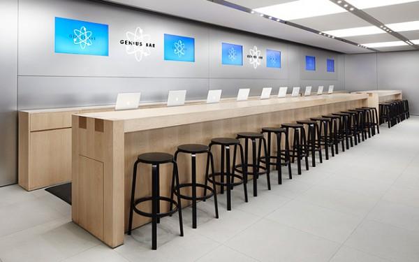 Genius Bar (poradňa), korú nájdeme v každom oficiálnom obchode spoločnosti Apple - svetapple.sk