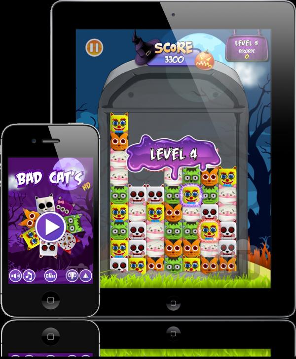 Bad Cats - iPad e iPhone