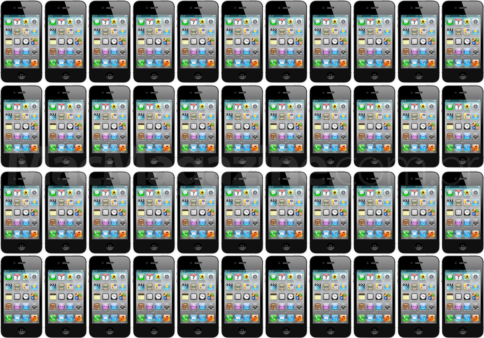 Muitos iPhones 4S