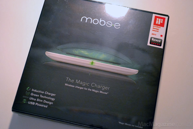 Magic Charger para Magic Mouse, da Mobimax