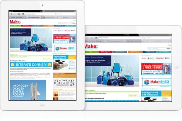 Safari (abas) no iPad 2