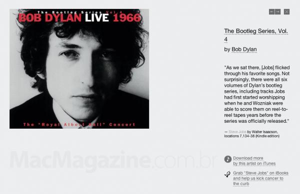 Site Steve's Favorites - Bob Dylan