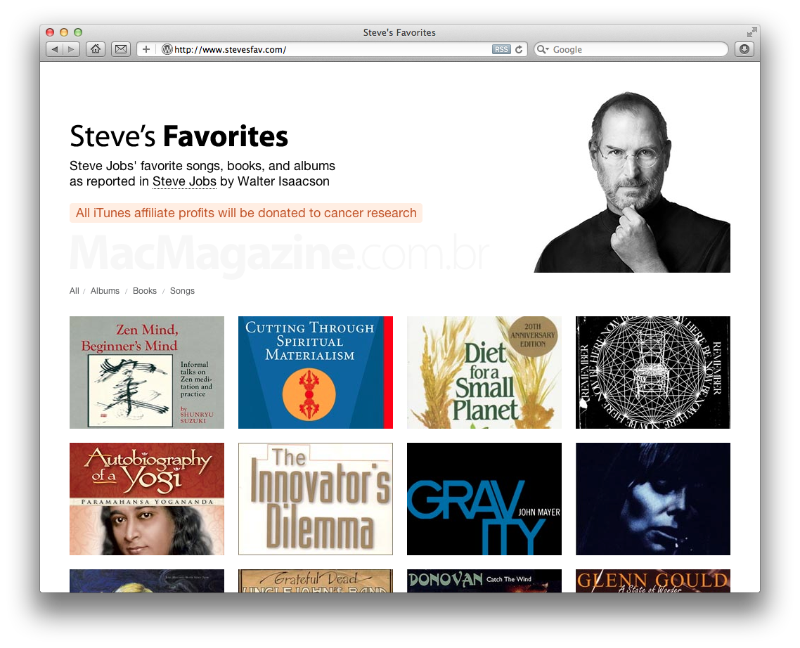 Site Steve's Favorites