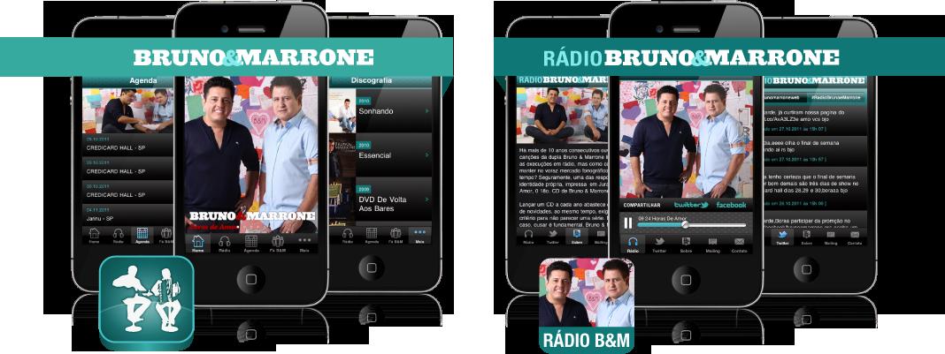 Apps do Bruno & Marrone