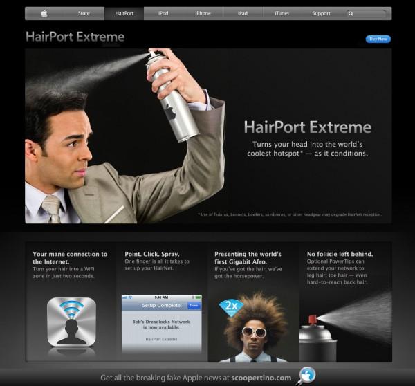 HairPort Extreme - Scoopertino