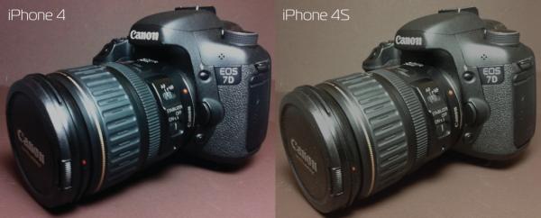 Comparação de imagens do iPhone 4 e 4S - Camera Technica