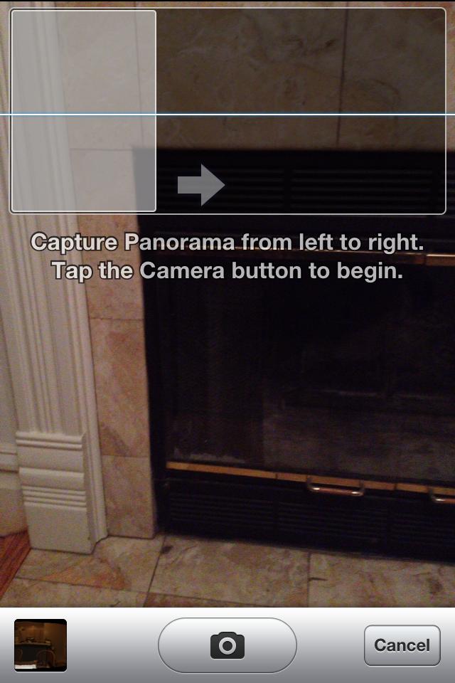 Panorama no iOS 5