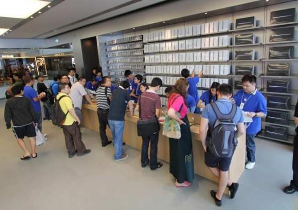 Express Lane - Apple Store, ifc mall