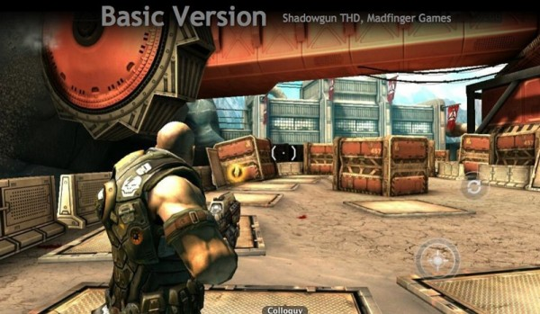 Shadowgun no Tegra 2