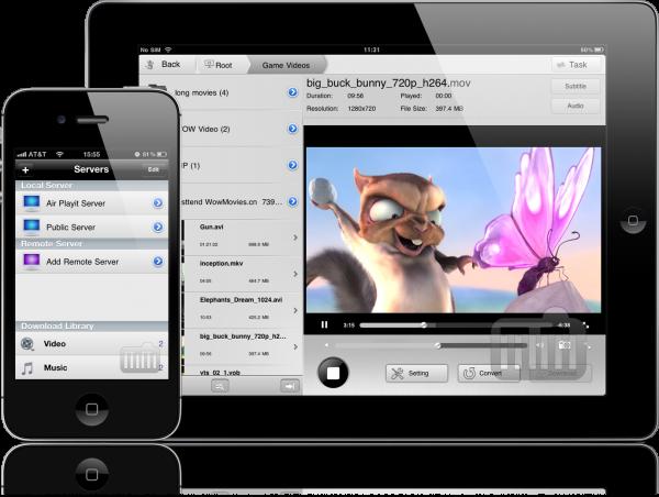 Air Playit - iPhone e iPad