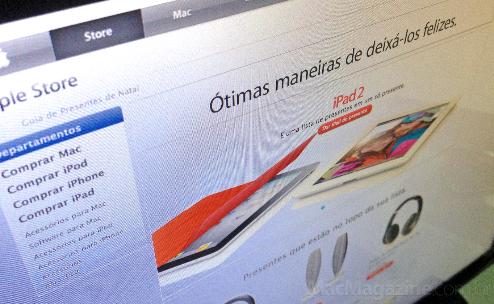 Natal na Apple Online Store