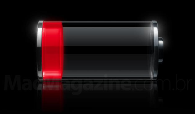 Bateria fraca no iOS