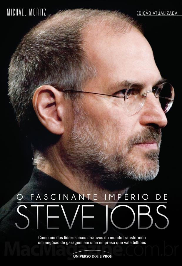 Capa de livro - O Fascinante Império de Steve Jobs