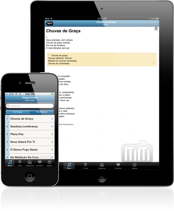 A Harpa Cristã - iPad e iPhone
