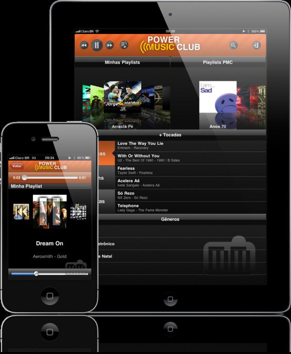 Power Music Club - iPad e iPhone