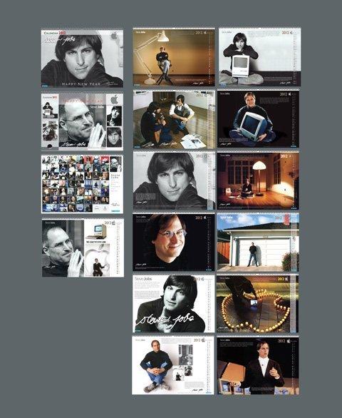Calendário para Steve Jobs