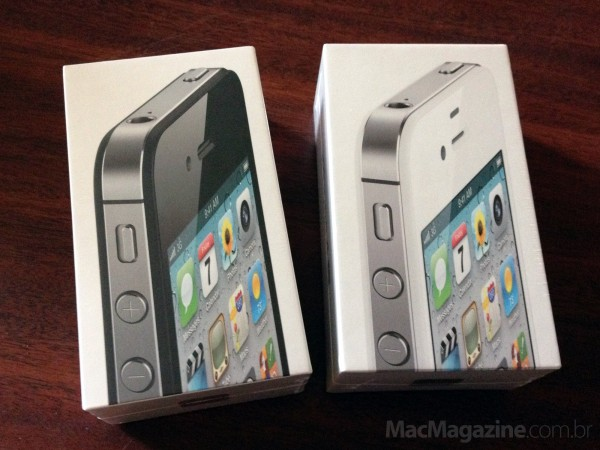 Unboxing do iPhone 4S
