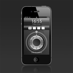 Dial to unlock - iPhone